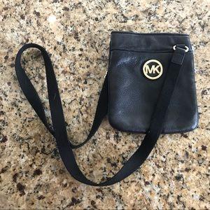 Micheal Kors Cross Body Handbag- Leather